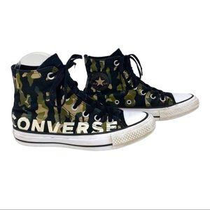 Converse Chuck Taylor All Star Hi Top Camo Sz 3.5